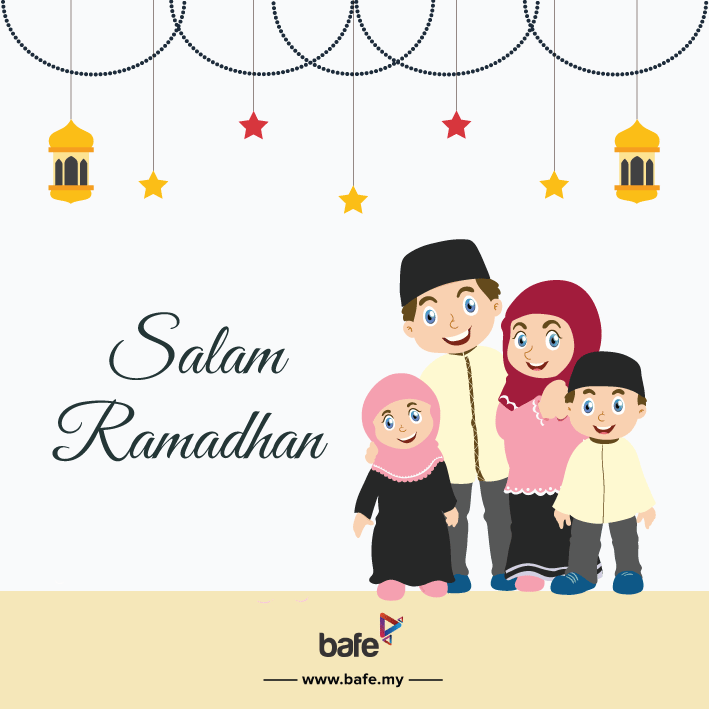 Happy Ramadhan and Happy Fasting!